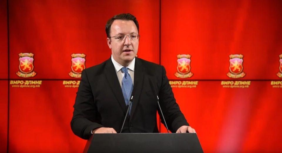 Николоски: Пратениците се најсилниот дел на ВМРО-ДПМНЕ, нивниот став е вибрацијата од граѓаните