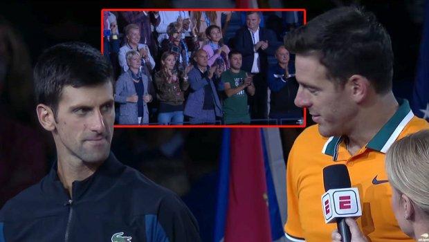 Изјавата на Дел Порто го крена на нозе тимот на Ѓоковиќ, сите аплаудираа (ВИДЕО)