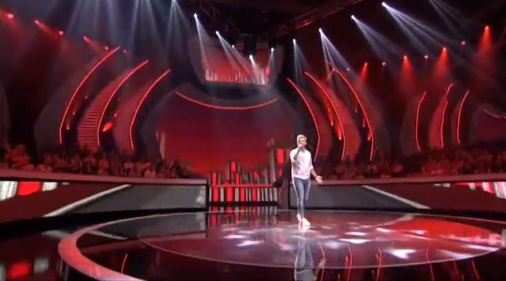 """ВИДЕО: Младиот Огнен повторно воодушеви во """"Ѕвездите на Гранд"""", Марија Шерифовиќ пресреќна по неговата одлука"""