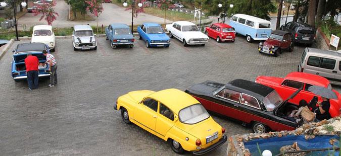 Прво рели со олдтајмери во Скопје