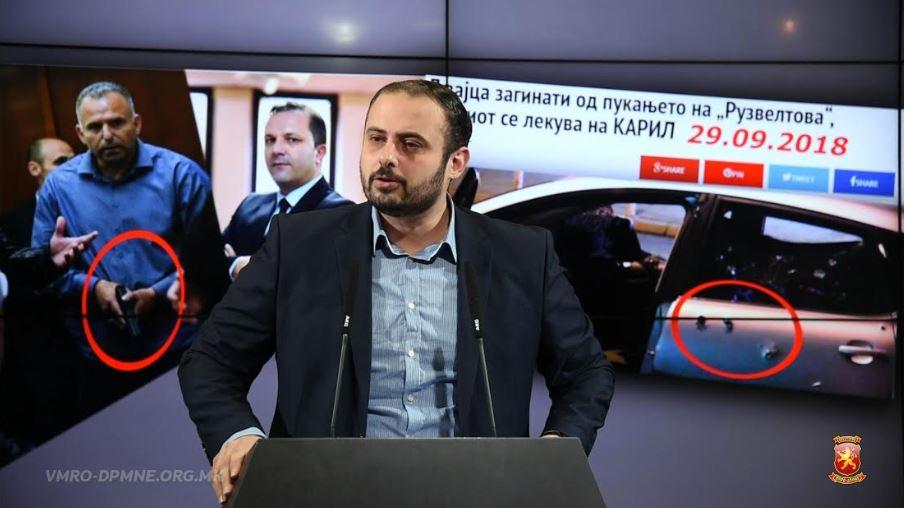 Ѓорѓиевски: Улиците на Скопје се бојно поле, не владеат законите туку оружјето и мафијата