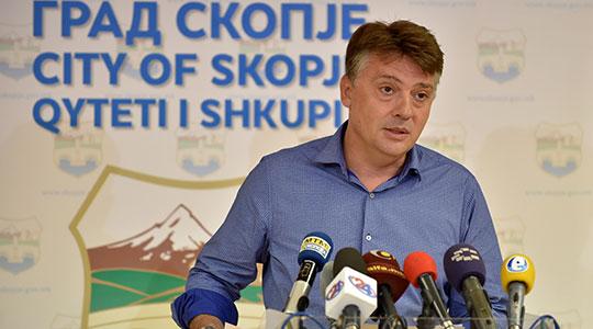 Советничката група на ВМРО-ДПМНЕ апелира Шилегов да не прави гол популизам од проектот за изградба на вијадукт на Вардар и подземен тунел под Скопското Кале