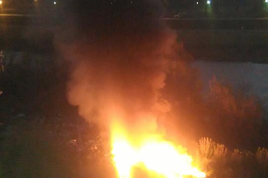 Пожарот близу Арачиново изгаснат, штетата незначителна