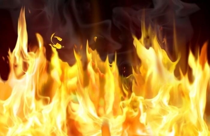 Избувна пожар во скопско Волково
