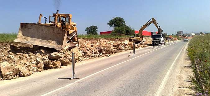 Прекин на сообраќајот на патот Прилеп-Градско