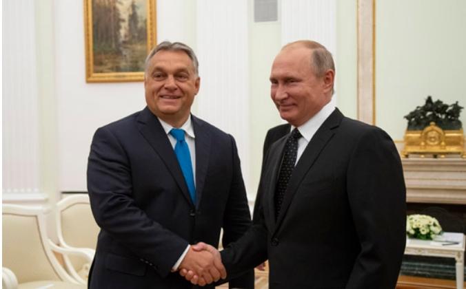 Орбан на разговори со Путин