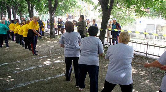 Отворање на пензионерски спортски игри во Радовиш