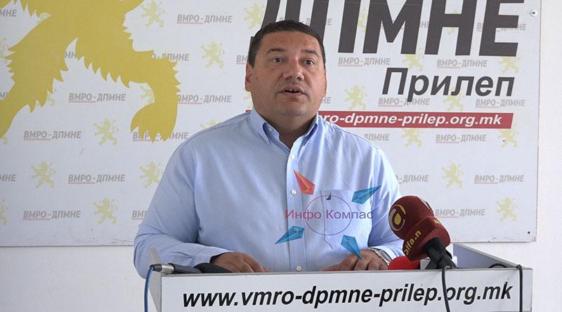 Ристески: Треба оставка од Филипче, како да зборуваме за успешно справување со кризата кога статистиката покажува спротивно