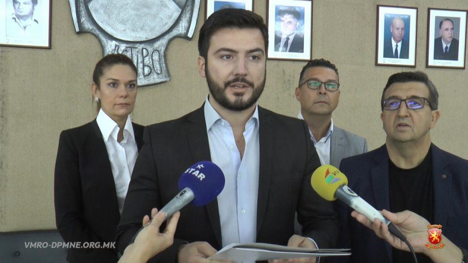 ВМРО-ДПМНЕ Штип: СДСМ со лаги и манипулации се здоби со правото да управува со парите на граѓаните