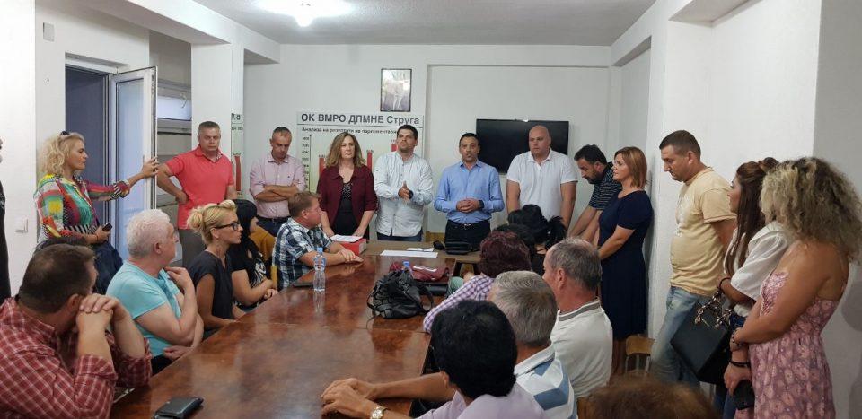 Ангелевска: Во недела во 13 часот да излеземе на протесниот марш во Охрид и да порачаме едно големо НЕ на ненародната влада на СДСМ и Заев