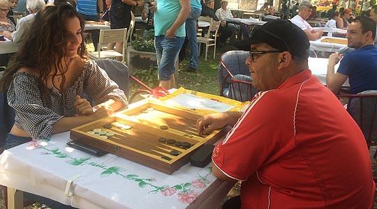 Натпревар во играње табла во Кавадарци