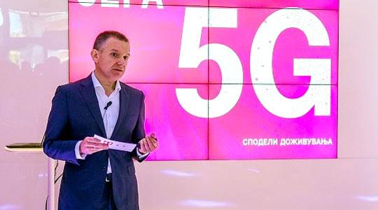 Македонски телеком го изведе првото 5Г демо во Македонија