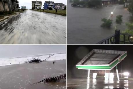 ВИДЕО: Ураганот пустоши во САД – летаат кровови, нема струја, вода во домовите