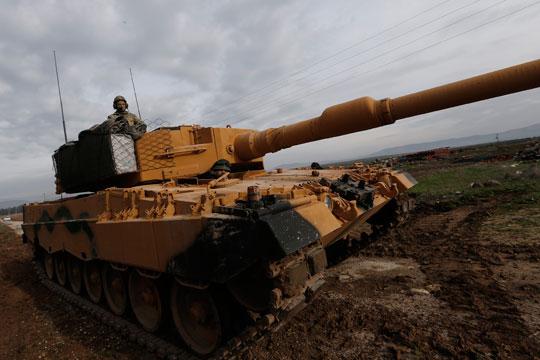 Турција: Тешкото оружје е повлечено од Идлиб