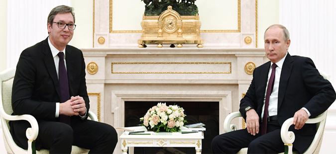 Средба Путин-Вучиќ: Состојбата на Балканот е многу сложена