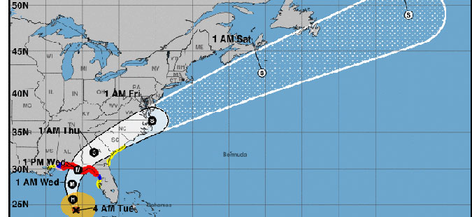 """Ураганот """"Мајкл"""" зајакна: """"Со децении не сме виделе вакво нешто"""""""