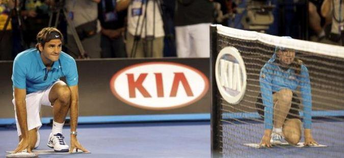 Федерер: Собирачите на топки заслужуваат почит