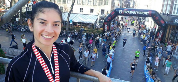 Адријана Поп Арсова на маратонот во Ајнтховен го собори македонскиот рекорд