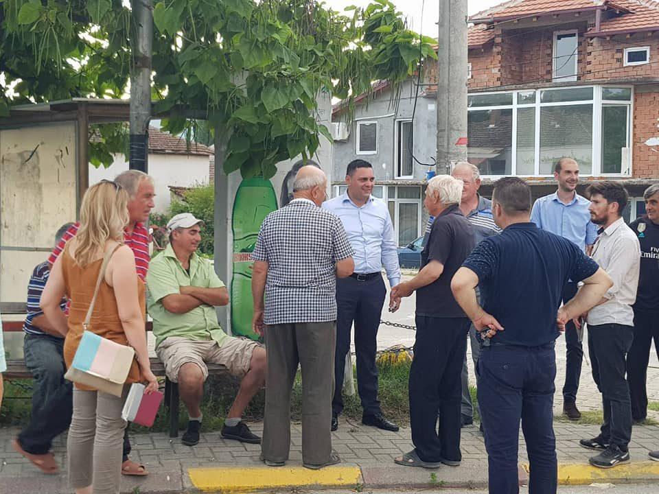 Митко Јанчев на терен, започнува серија средби со кавадарчани