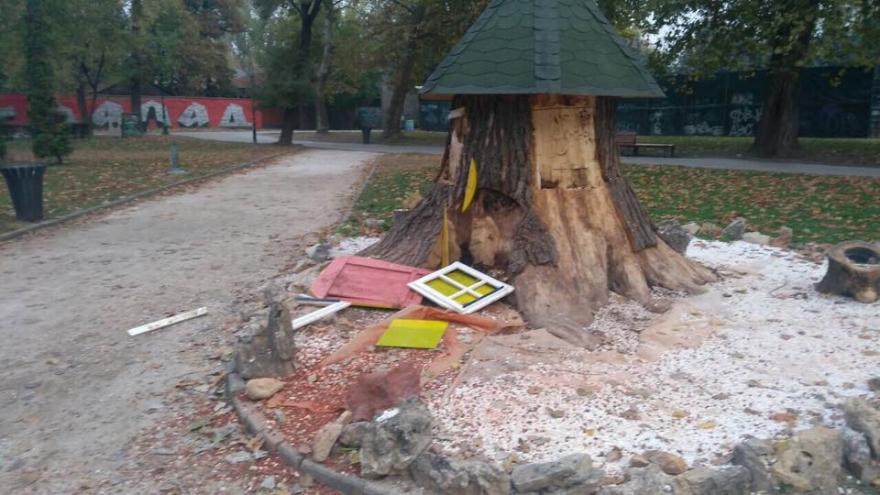Вандали ја уништуваат секоја нова опрема и идеја во Градски парк (фото)