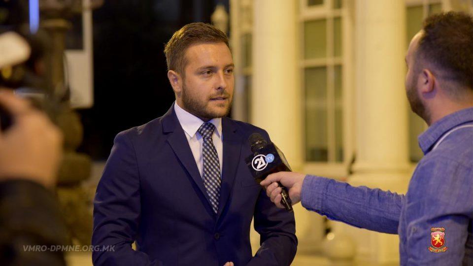 Арсовски: За ВМРО-ДПМНЕ најважна е волјата на граѓаните, референдумот е неуспешен