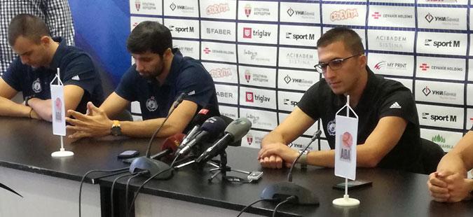 Кочов бара поддршка од навивачите на дуелот со Борац Чачак