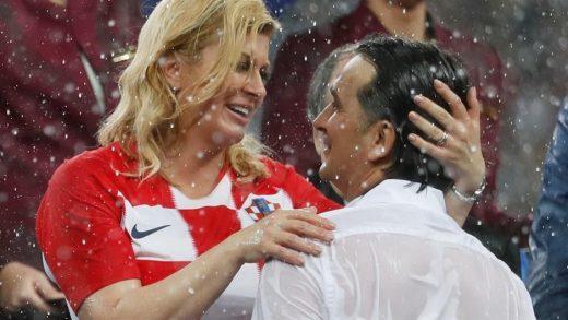 Стипе Месиќ: Колинда ќе ја паметиме по бакнувањето со фудбалерите