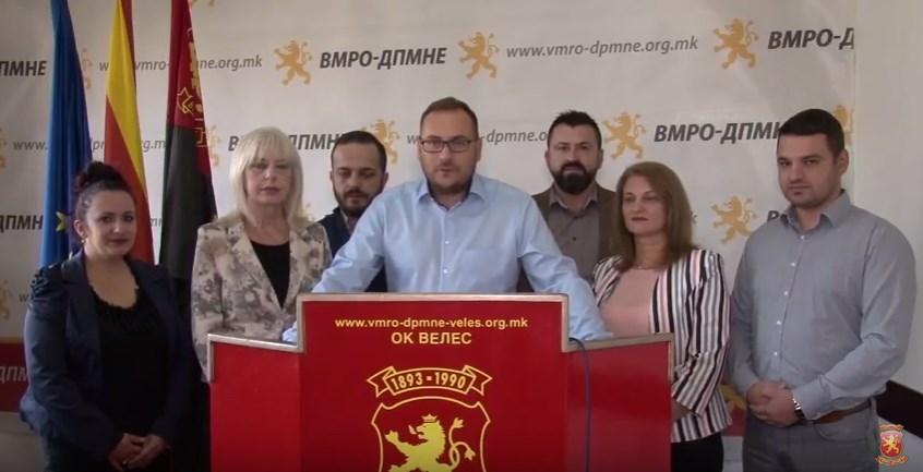 """""""Велешани ги прочитаа Заев и СДСМ и затоа опадна нивната поддршка помеѓу граѓаните, а и во периодот што следува дополнително ќе се намалува"""""""