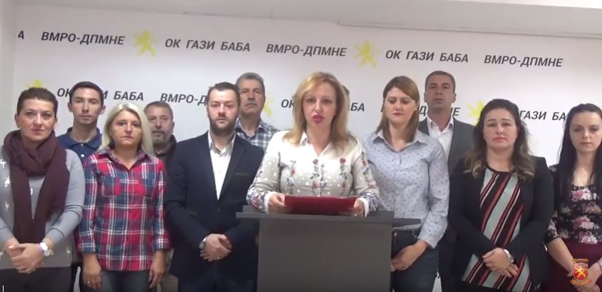 Пешевска: СДСМ е казнета во општина Гази Баба и тој тренд на опаѓање на поддршката ќе продолжи