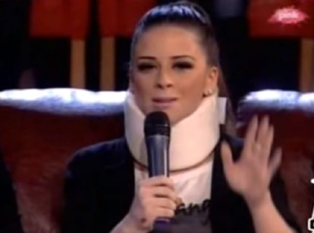 И Ана Севиќ некогаш имаше сообраќајна несреќа, а најголема поддршка и беше Дарко Лазиќ