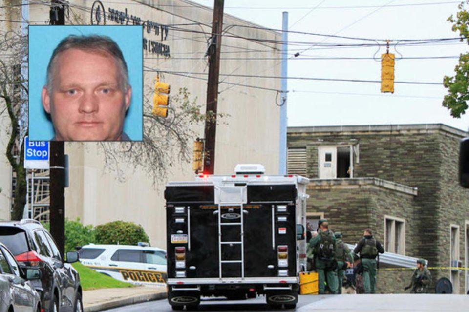 Осомничениот за нападот во синагогата во Питсбург пуштен од болница