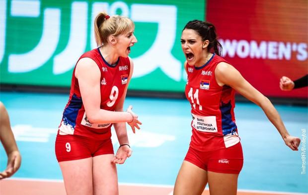 Српските одбојкарки станаа светски првенки по трилер во пет сета против Италија
