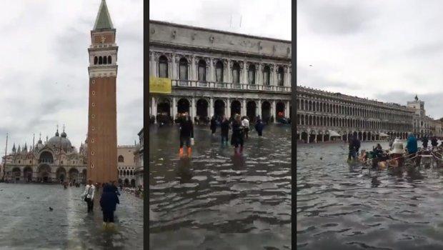 Невреме во Европа: Завеани Алпи, Венеција поплавена, има жртви, а во бура во Хрватска исчезна сурфер (ВИДЕО)