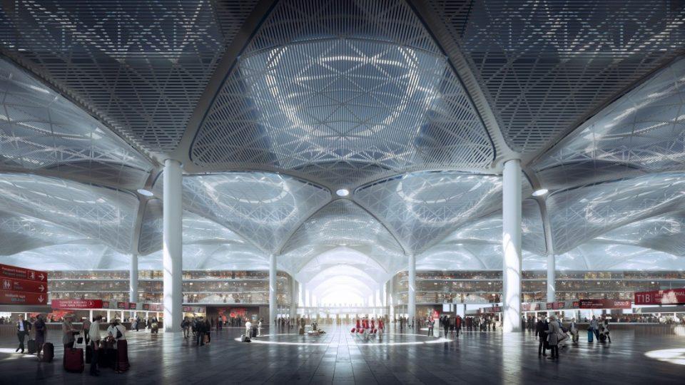 Најголем во светот: Ѕирнете во турскиот аеродром (ВИДЕО)