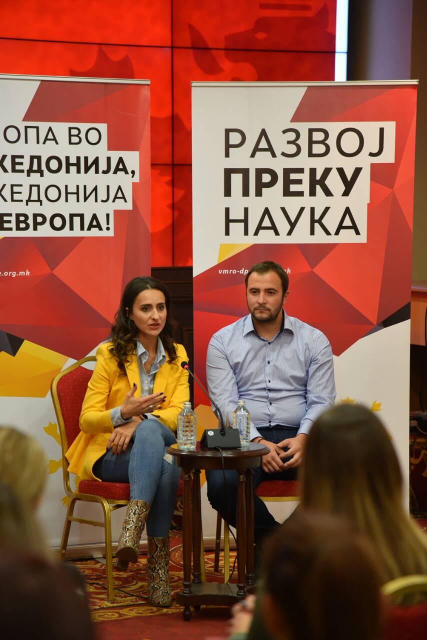Алексовска: Младинската гаранција на СДСМ и Заев е најголемата лага, нема ништо од нивните ветувања
