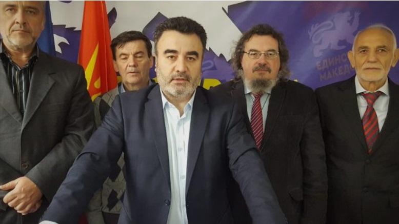 """Стефан Влахов Мицов: Партијата """"Единствена Македонија"""" е проект на Зоран Заев и хунтата"""