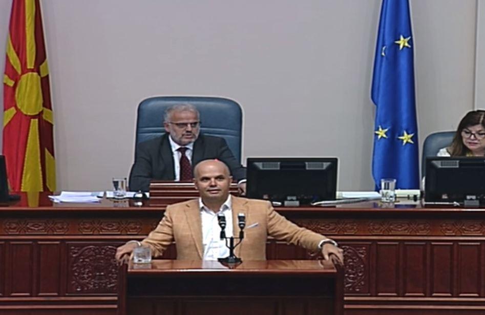 ВИДЕО: Џафери му го исклучи микрофонот на Данев на собраниската говорница