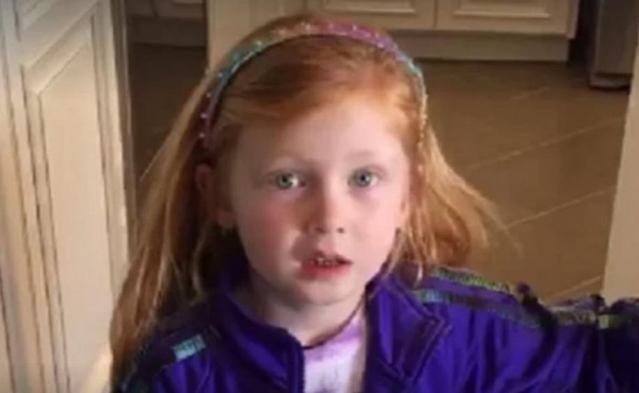 """Девојче на училиште рекло дека нејзиниот татко одгледува """"трева"""", погледнете го расплетот на приказната (ВИДЕО)"""