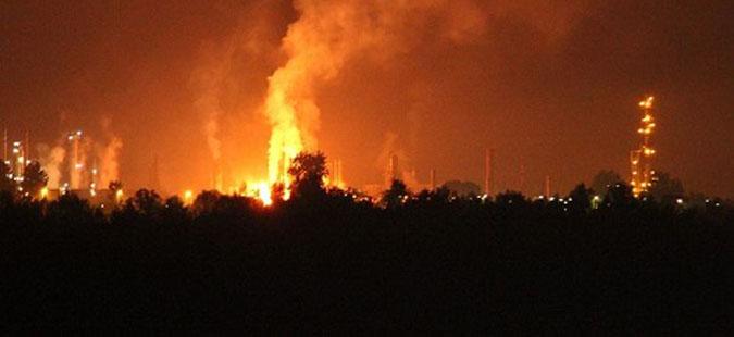 Осуммина повредени при експлозија во рафинеријата во БиХ