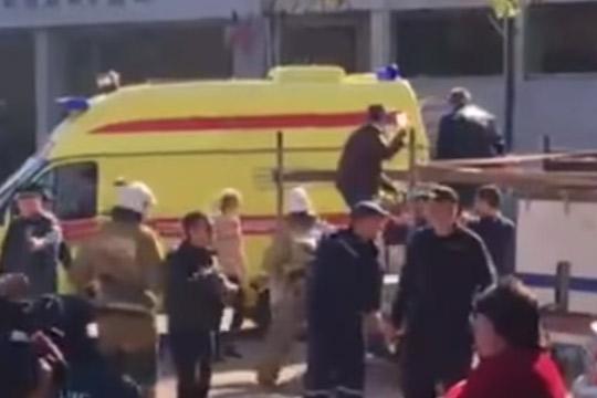 Експлозијата на Крим е терористички чин- напаѓачот влегол и почнал да пука, тела на настрадани има секаде во факултетот