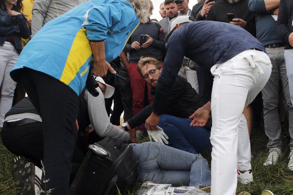 Кој вели дека голфот е сигурен спорт: Жена од публика остана без око на турнир (ВИДЕО)