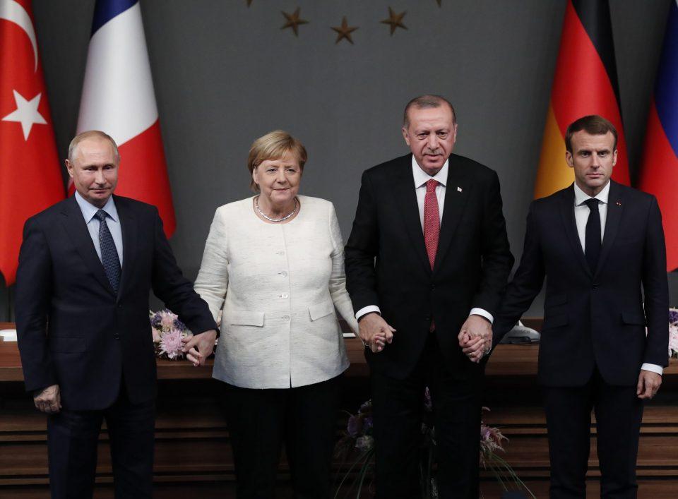 Ердоган, Меркел, Путин и Макрон: Потрбено е политичко решение за Сирија