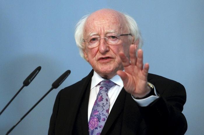 Мајкл Хигинс реизбран за претседател на Ирска