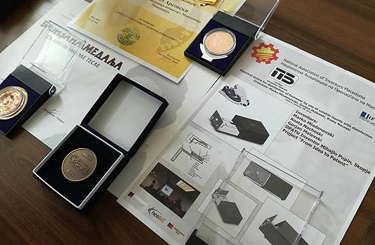 Пет македонски иноватори со златни медали на меѓународни саеми