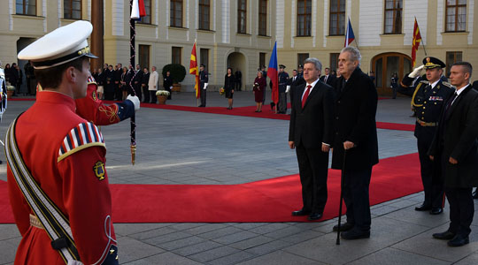 Иванов: Чешка е вистински пријател на Република Македонија