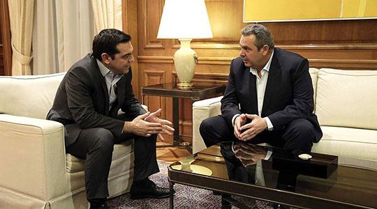 """Та неа"": Тајна средба Ципрас – Каменос"