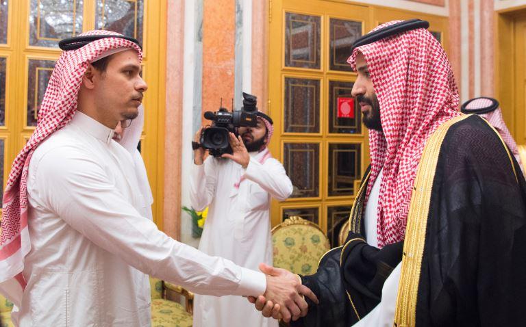 Саудискиот крал и принц се сретнаа со семејството на Кашоги