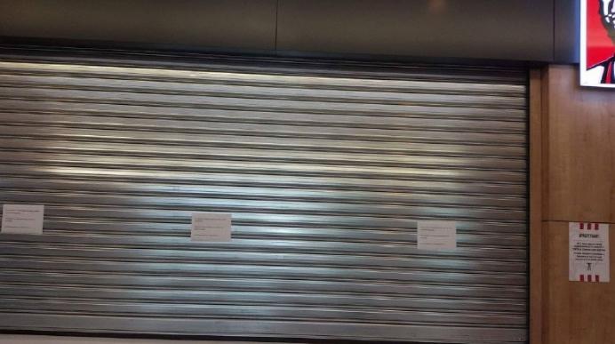 """Затворен """"KFC"""" во Скопје Сити Мол, позната е причината"""