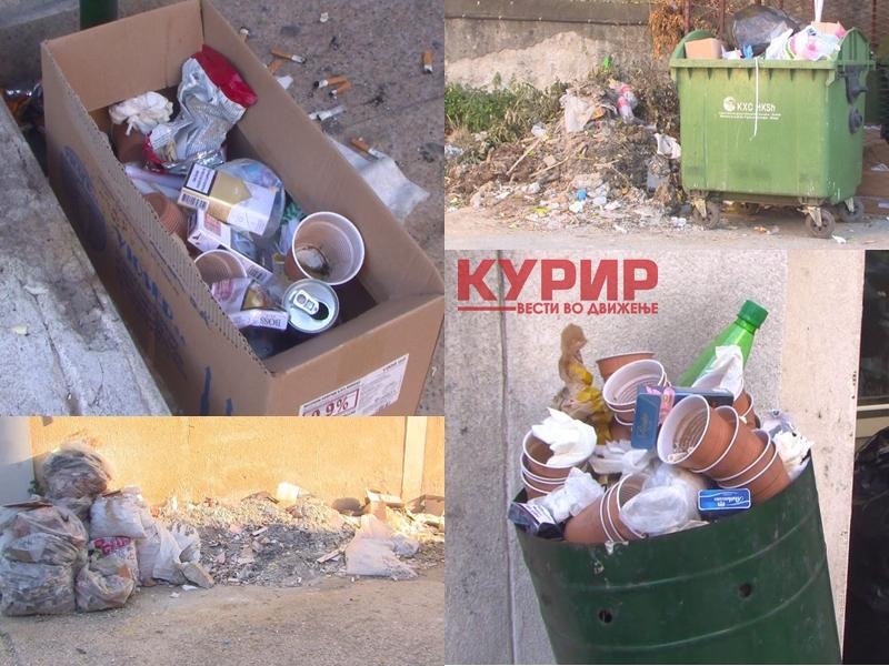 КУРИР анкета во Клинички центар: Хаосот со автомобилите тапка во место, проблемот со ѓубрето во кое се дават пациентите непроменет