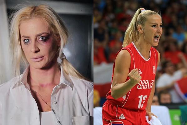 """Најубавата српска кошаркарка беше претепана од момчето, роди син, а сега потпиша за албански тим:  """"Во Србија никој не ме сака"""""""